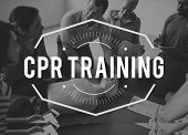 CPR first aid training paramedic education class poster
