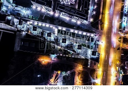 Top View Of The City