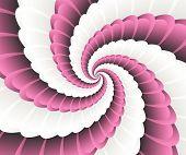 Tech Loop Hi-tech Graphics Vector Illustration  Vector Futuristic Design poster