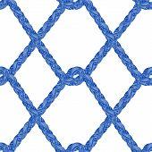 Braid Pattern. Tassel. Fringe. Rope Knots. Knitting. Crochet. Braided Trim. Fabric Design. Marine. S poster