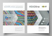 Business Templates For Brochure, Magazine, Flyer, Booklet, Report. Cover Design Template, Abstract V poster