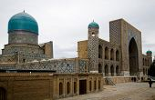 stock photo of samarqand  - Registan Ensemble in Samarkand - JPG