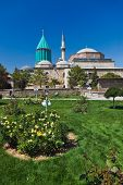 stock photo of rumi  - Mevlana Museum and Mausoleum  - JPG