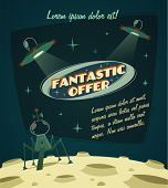 stock photo of cosmic  - Fantastic offer - JPG
