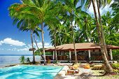 tropical holidays, luxury resort on the beach
