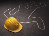 stock photo of workplace accident  - Accident at work - JPG