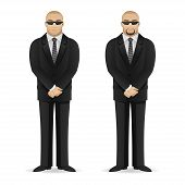 stock photo of bodyguard  - Illustration - JPG