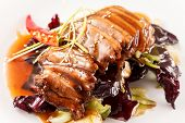 picture of roast duck  - Roasted duck meat - JPG