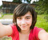 stock photo of selfie  - Teen - JPG