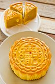 foto of mid autumn  - Chinese moon cake for celebrate in Mid - JPG