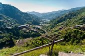 picture of luzon  - the famous rice-terraces of Banaue Luzon Philippines