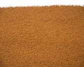 stock photo of chicory  - close up of brown Chicory Powder - JPG