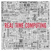 picture of text cloud  - Close up Red REAL - JPG