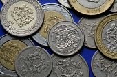 pic of dirhams  - Coins of Morocco - JPG