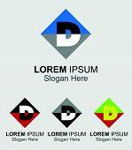 stock photo of letter d  - Letter D logo - JPG
