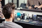 picture of barbershop  - Close - JPG