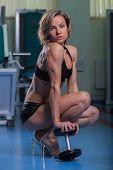 stock photo of training gym  - Sports - JPG