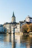 stock photo of zurich  - Zurich in Switzerland - JPG