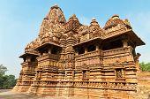 picture of khajuraho  - Lakshmana temple - JPG