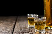 picture of close-up shot  - Whiskey Shot  - JPG