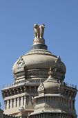 picture of vidhana soudha  - close - JPG