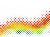 image of diffraction  - halftone rainbow - JPG