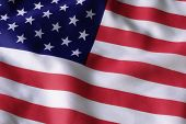 stock photo of usa flag  - usa flag - JPG