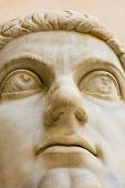 Head Of Ancient Statue poster