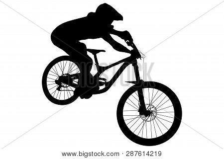 Athlete Mtb Downhill Bike Black