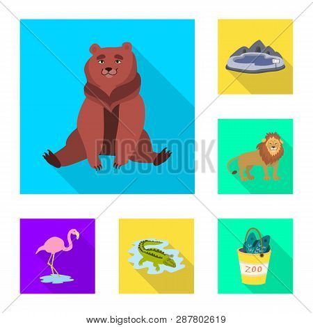 Vector Illustration Of Safari And