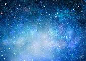 High Definition Star Field Background . Starry Outer Space Background Texture . Colorful Starry Nigh poster