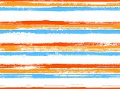 Casual Stripes Interior Wallpaper Seamless Pattern. Modern Sketch Graphics. Interior Tablecloth Or W poster