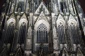 image of koln  - Close up of the Cologne Cathedral in Germany - JPG