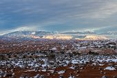 La Sal Mountains, Utah poster