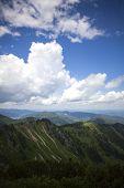 Mountain Panorama View Of Brecherspitze, Bavaria poster