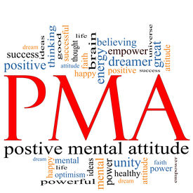 picture of pma  - PMA Word Cloud Concept great terms such as Positive Mental Attitude empower faith dream brain and more - JPG