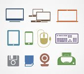 Digital stuff icons