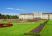 stock photo of schoenbrunn  - Schoenbrunn Palace in Vienna Austria - JPG
