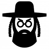 Orthodox jew icon
