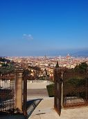 image of salvatore  - View of Florence from Baslica di San Salvatore al Monte Tuscany Italy - JPG