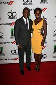 Julius Tennon, Viola Davis at the 17th Annual Hollywood Film Awards Arrivals, Beverly Hilton Hotel,