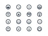 stock photo of eye-wink  - Expression icons - JPG