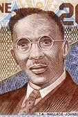 SIERRA LEONE - CIRCA 2006: I. T. A. Wallace-Johnson (1894-1965) on 2000 Leones 2006 Banknote from Si