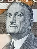PORTUGAL - CIRCA 1985: Antonio Sergio (1883-1969) on 5000 Escudos 1985 Banknote from Portugal. Portu