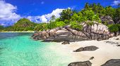 image of breathtaking  - breathtaking beaches of Seychelles islands - JPG