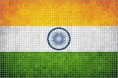stock photo of indian  - Indian Flag,