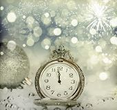 image of midnight  - New Year - JPG