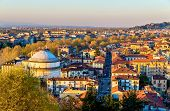 image of turin  - View of Turin in the evening  - JPG