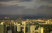 foto of kuala lumpur skyline  - View of the Kuala Lumpur - JPG