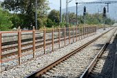pic of electric station  - Old railroad station - JPG